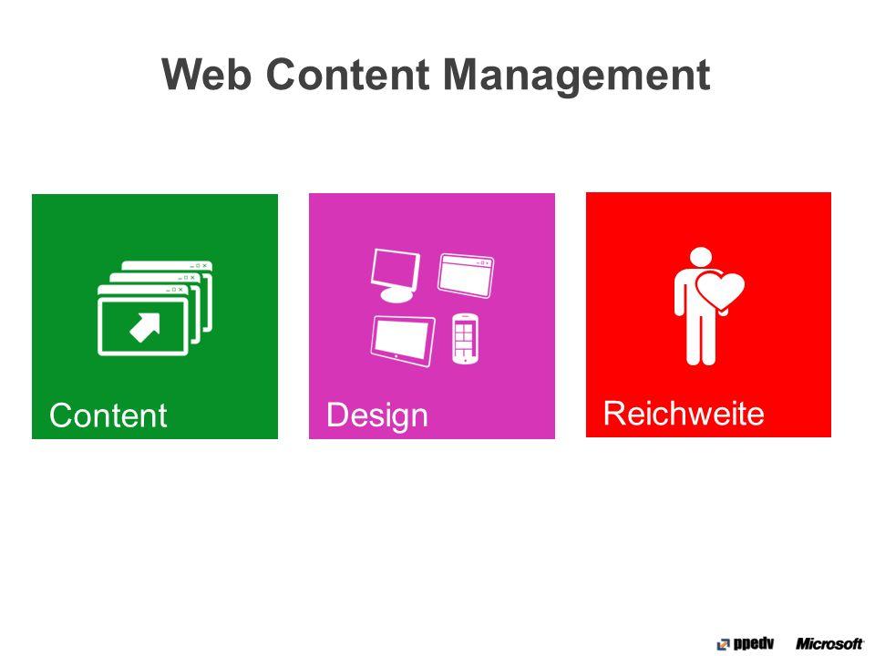 Design Manager Neues UI Management Tool Erstellung, Bereitstellung und Verwaltung von Design- Elementen Einfache Master Page- Generierung mit beliebigen Tools Export und Import