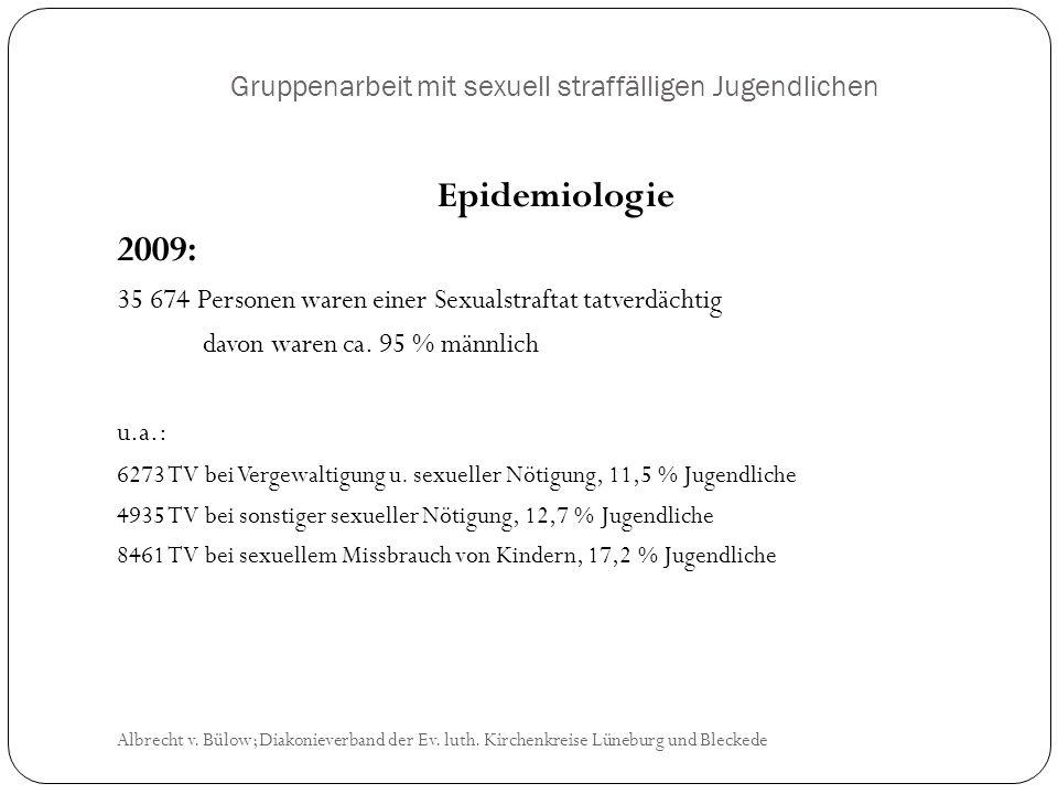 Gruppenarbeit mit sexuell straffälligen Jugendlichen Albrecht v.