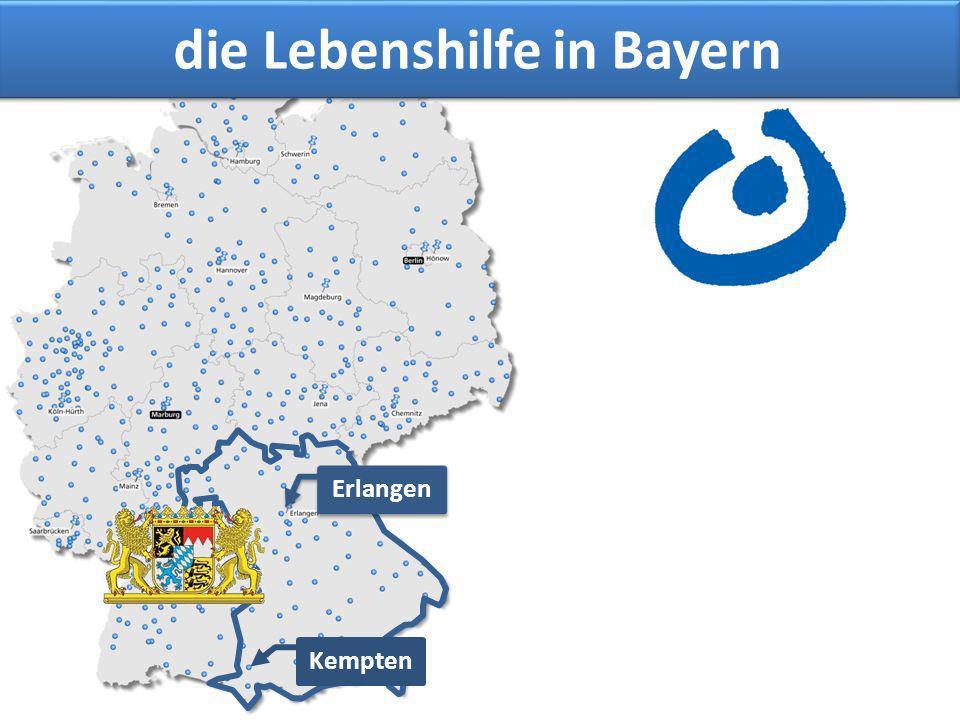 Erlangen Kempten die Lebenshilfe in Bayern