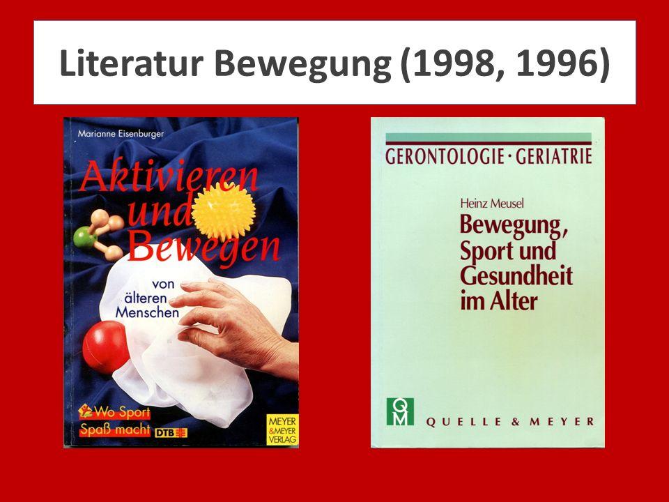 Literatur Bewegung (1998, 1996)