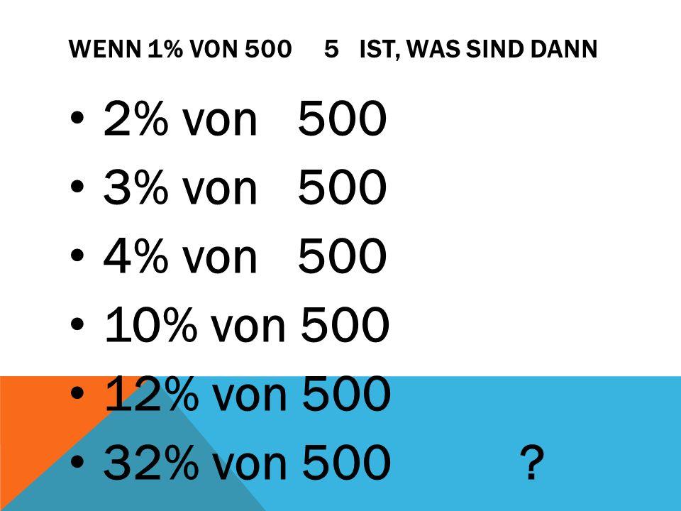 LETZTE RUNDE Nachdem wir jetzt schon den Prozentwert und den Grundwert berechnen können, geht es jetzt darum, den Prozentsatz zu berechnen.