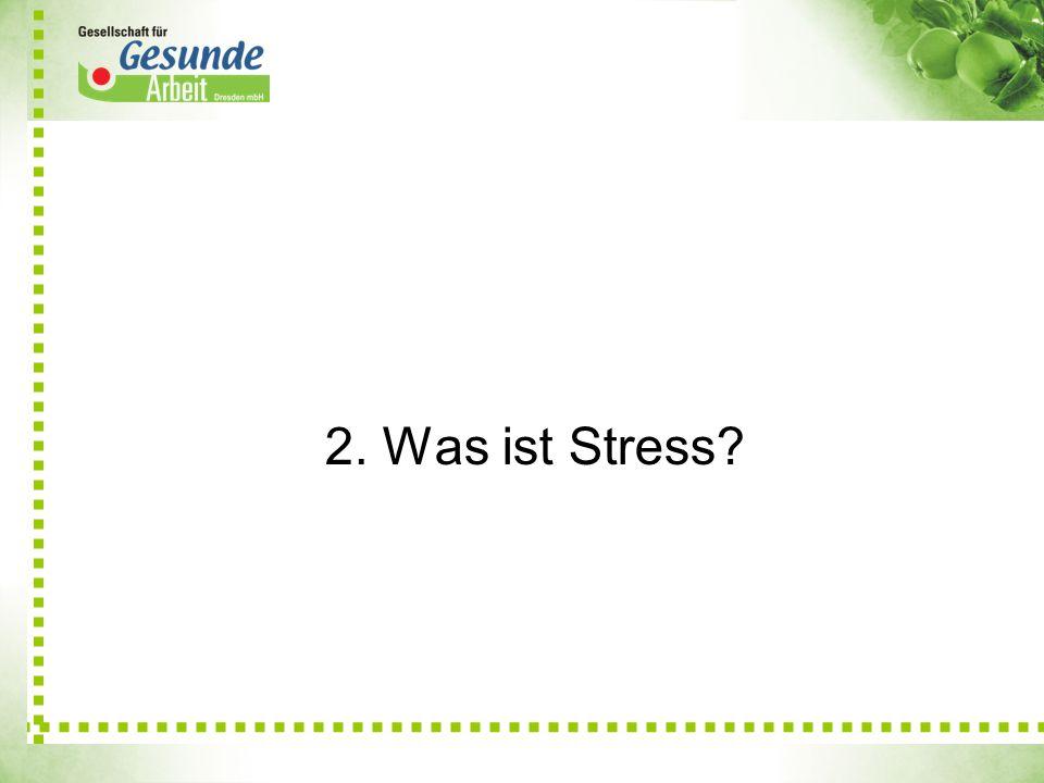 2. Was ist Stress?