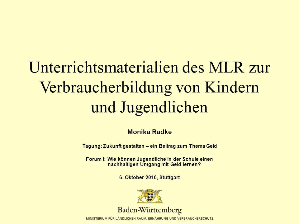 Auszug Deckblatt Seite 3 Realschule Fach/Kernbereich/Klassenstufe MUM Wirtschaft Kl.