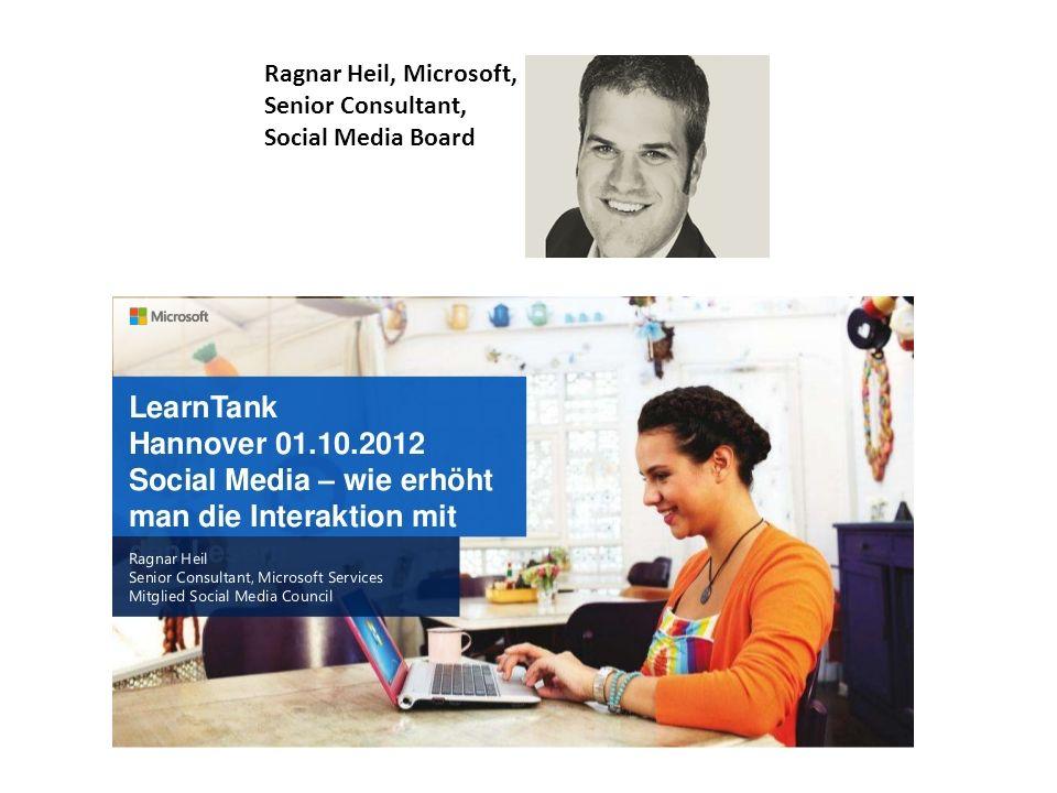 Ragnar Heil, Microsoft, Senior Consultant, Social Media Board