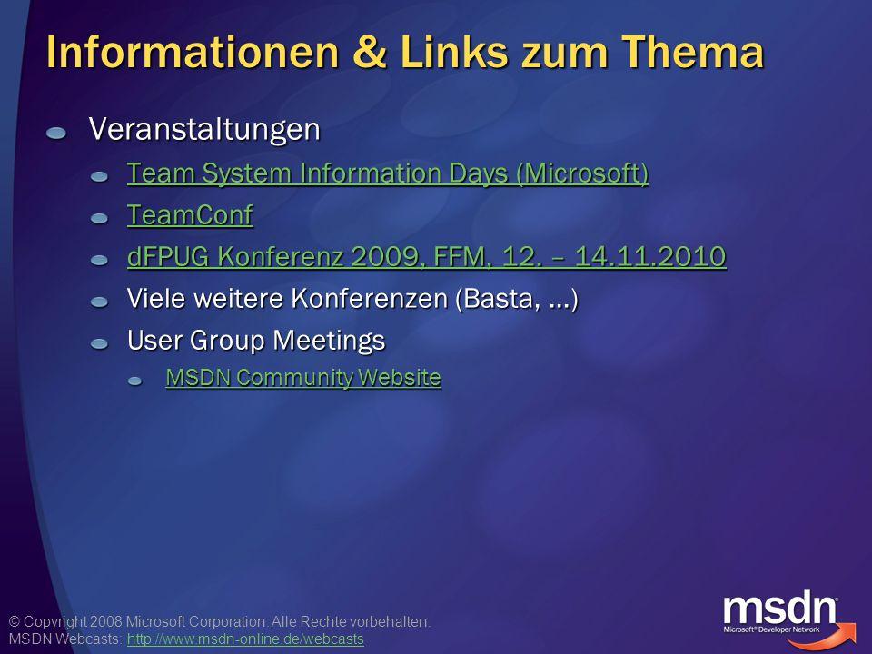 © Copyright 2008 Microsoft Corporation.Alle Rechte vorbehalten.