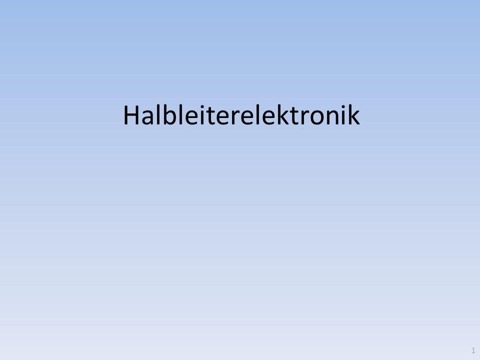 Halbleiterelektronik 1