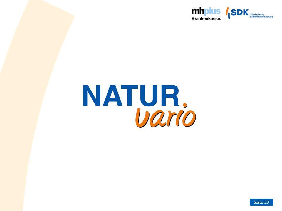 Seite 24 NATURvario – Die sinnvolle Ergänzung zur Schulmedizin