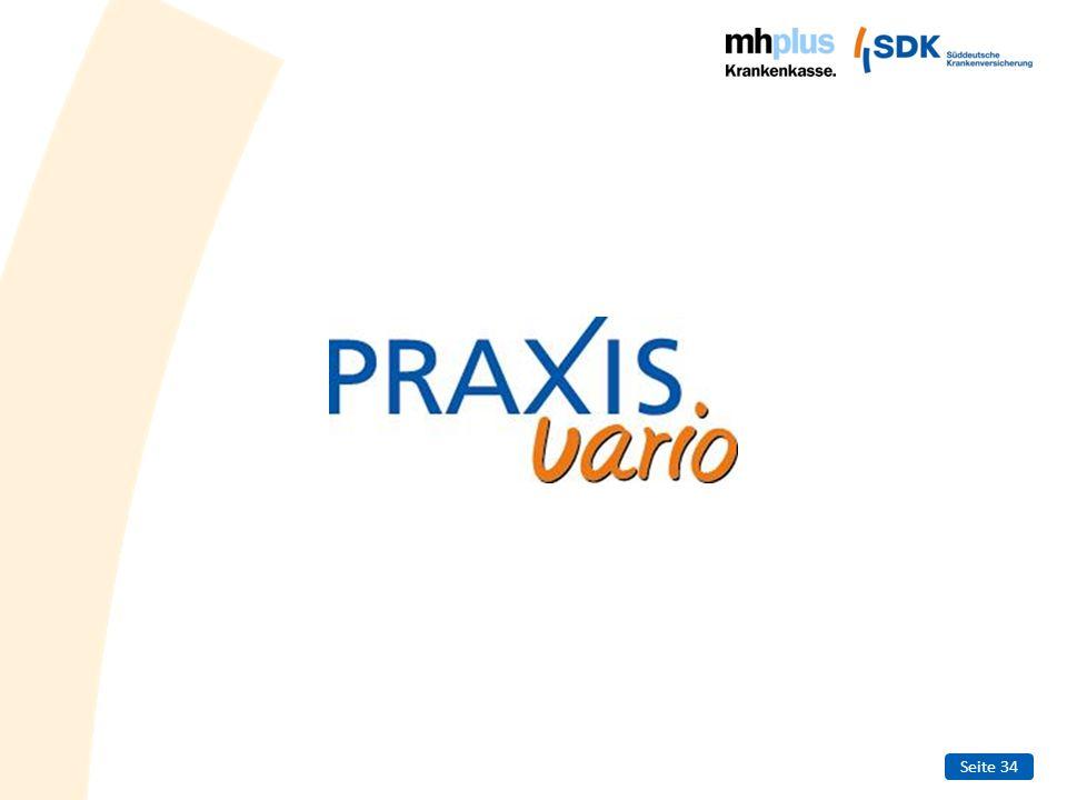 Seite 35 PRAXISvario - Fakten Gesetzlich versichert und trotzdem Privatpatient Beantragung des Kostenerstattungsprinzips bei der mhplus Als Privatpatient zum Arzt oder Zahnarzt.