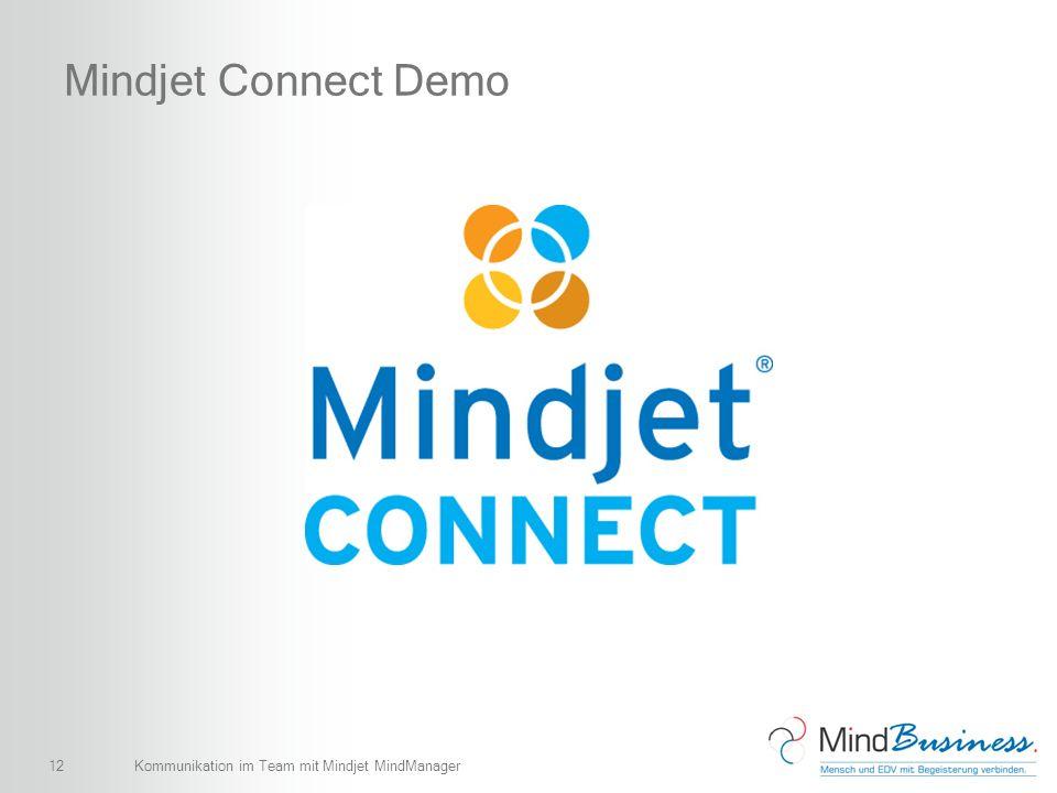 12 Mindjet Connect Demo Kommunikation im Team mit Mindjet MindManager