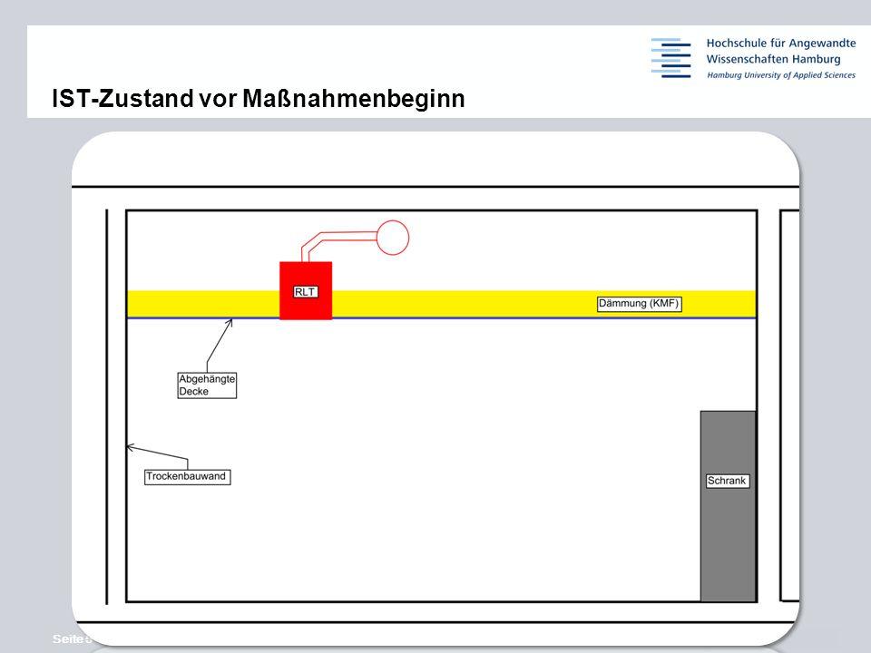 Seite 5 © Siemens AG 2013 11,2011,9011,600,400,00 8,80 6,10 5,10 4,40 1,20 1,60 7,90 8,60 IST-Zustand vor Maßnahmenbeginn