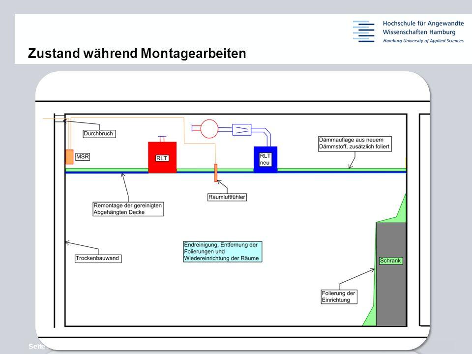 Seite 7 © Siemens AG 2013 11,2011,9011,600,400,00 8,80 6,10 5,10 4,40 1,20 1,60 7,90 8,60 Zustand während Montagearbeiten
