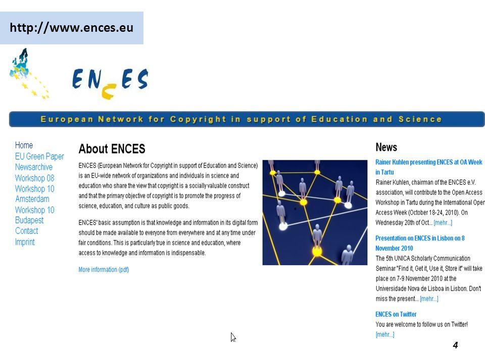 Open Access – Institutionalisierungsform für das Gemeingut Wissen 45 Was tun?