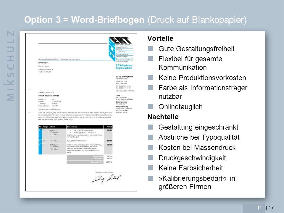 | 17 Ein paar grundlegende Hinweise Schriften Satzspiegel Formatierungen Farbe 12