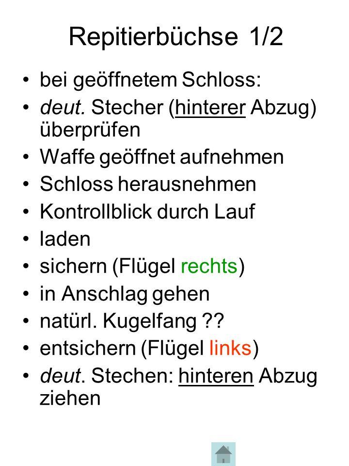 Repitierbüchse 2/2 Halt, Bock springt ab !.