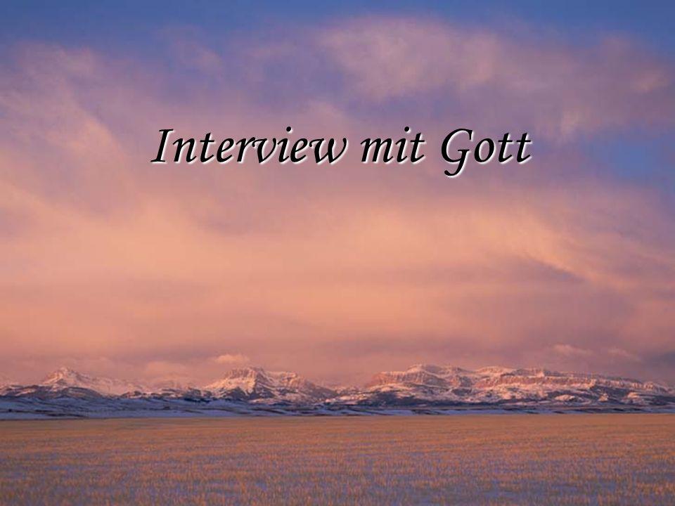 Interview mit Gott