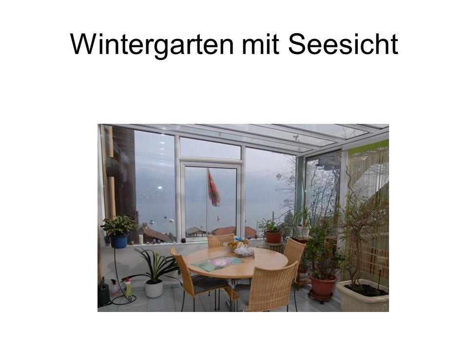 Wintergarten mit Seesicht