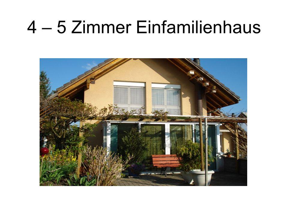 4 – 5 Zimmer Einfamilienhaus