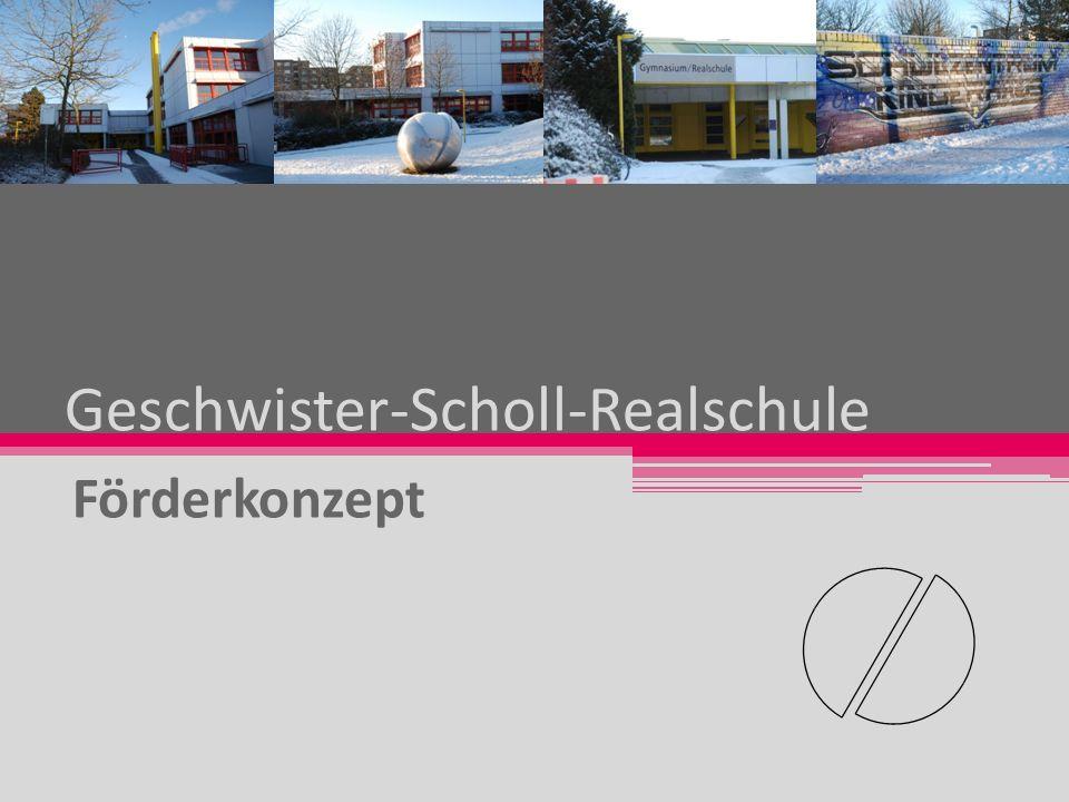 Geschwister-Scholl-Realschule Förderkonzept