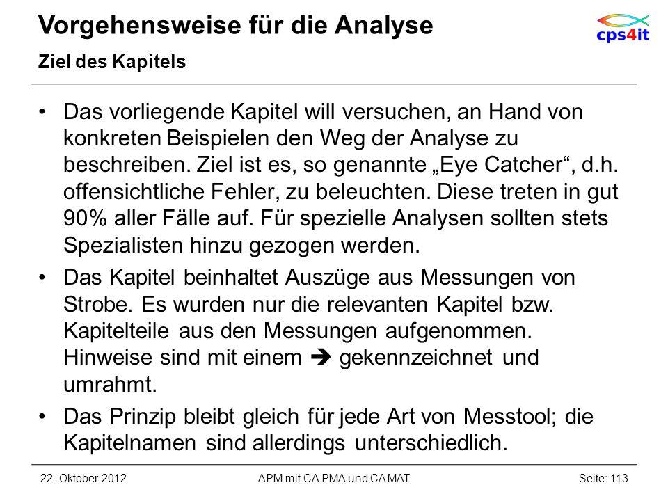 Vorgehensweise für die Analyse Ziel des Kapitels Das vorliegende Kapitel will versuchen, an Hand von konkreten Beispielen den Weg der Analyse zu besch