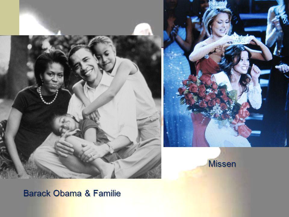 Barack Obama & Familie Missen
