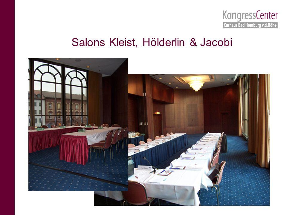 Salons Kleist, Hölderlin & Jacobi