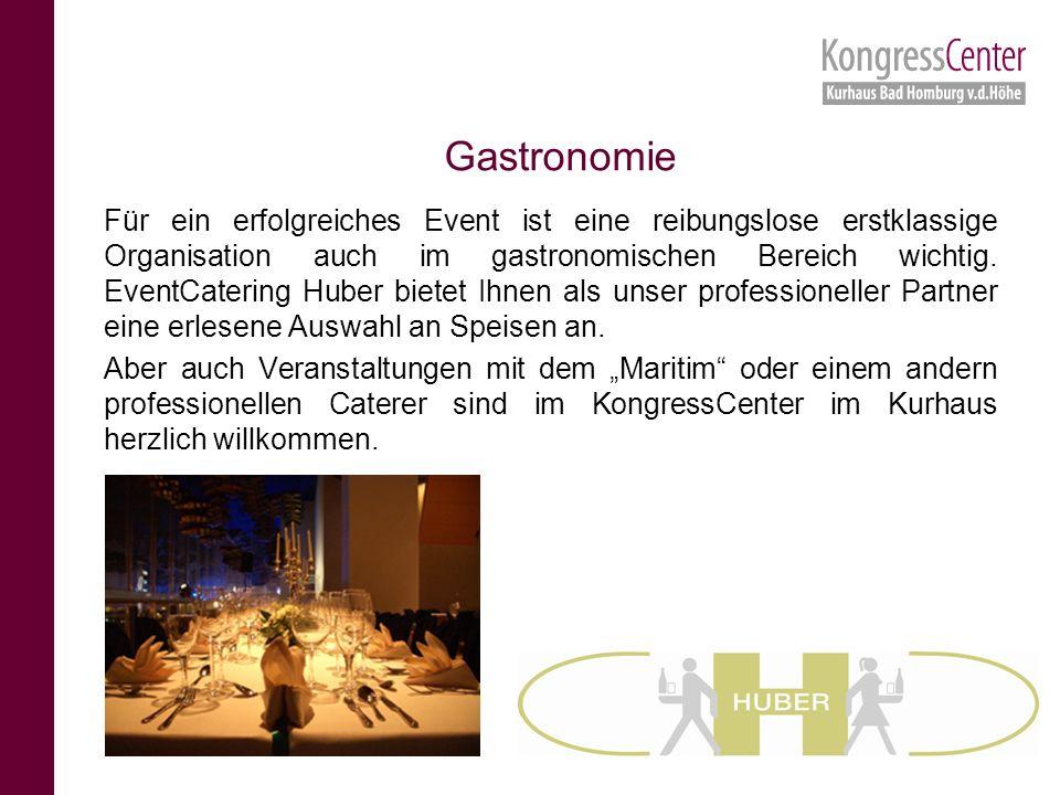 Für ein erfolgreiches Event ist eine reibungslose erstklassige Organisation auch im gastronomischen Bereich wichtig.