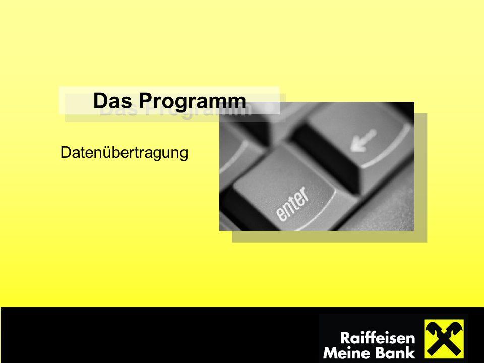 Das Programm Datenübertragung