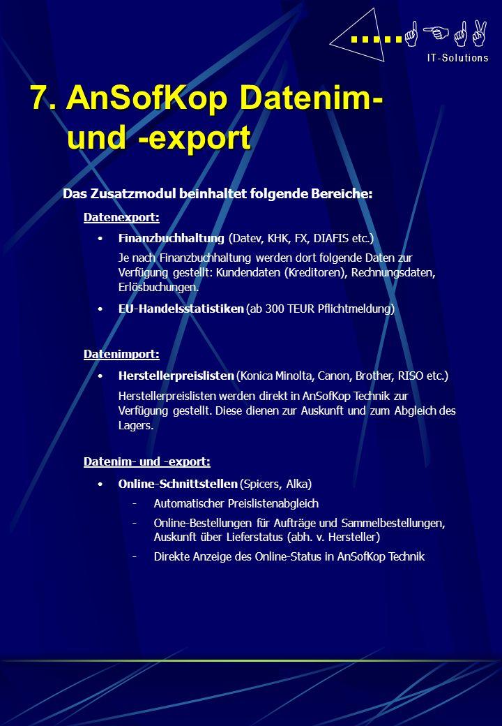 GEGA I T - S o l u t i o n s I T - S o l u t i o n s Das Zusatzmodul beinhaltet folgende Bereiche: Datenexport: Finanzbuchhaltung (Datev, KHK, FX, DIA