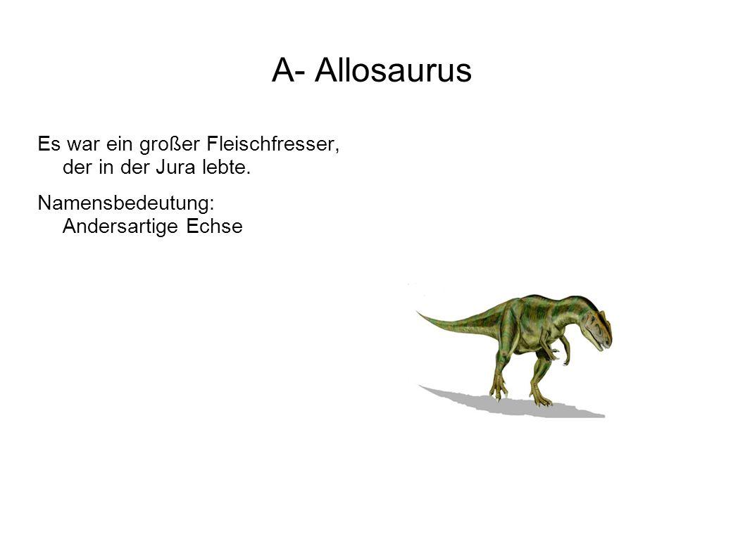 L- Liliensternus War ein flinker kleiner Fleischfresser, der in der Triaszeit lebte.