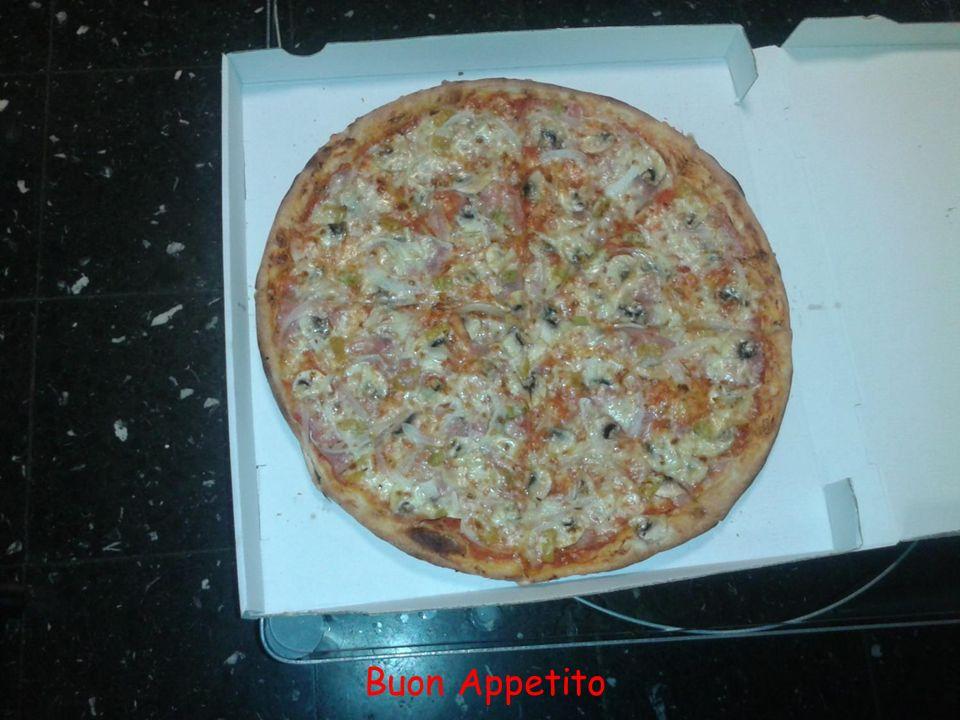 O Gott ! Gleich kommt die 40 cm Pizza