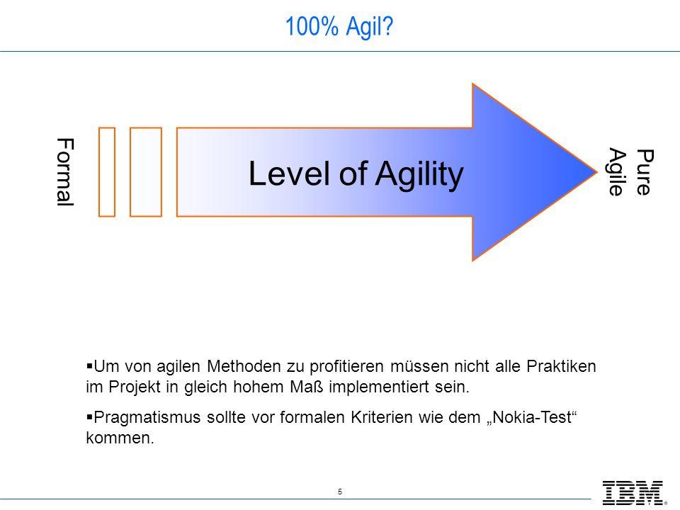36 Fazit Agile Methoden wie Scrum haben ihre Grenzen, aber diese lassen sich beherrschen.