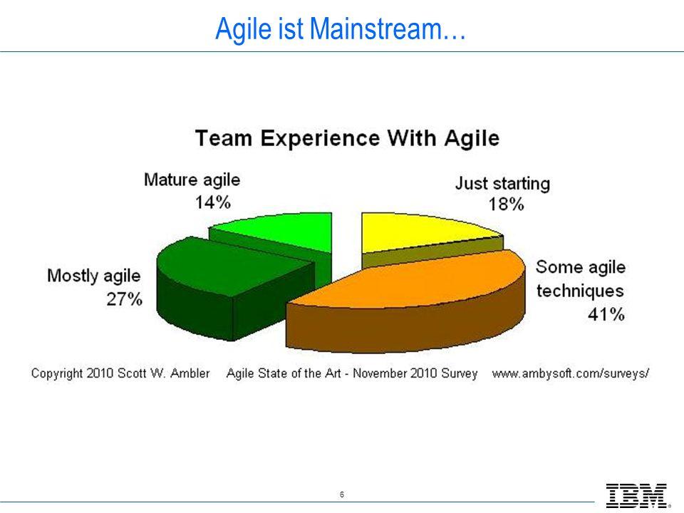6 Agile ist Mainstream…