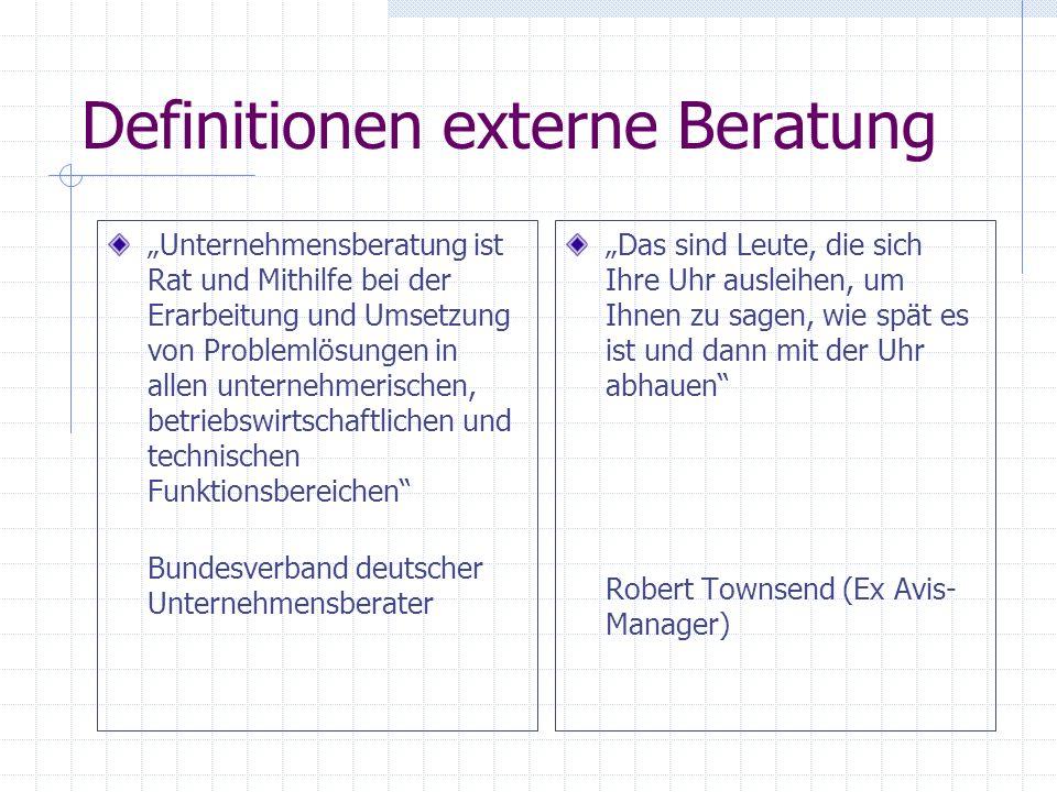 Geschichte der Beratung 1967 in München Roland Berger 1945 in Gummersbach Gerhard Kienbaum 1926 in Chicago James Oscar McKinsey 1886 in Chicago Arthur D.