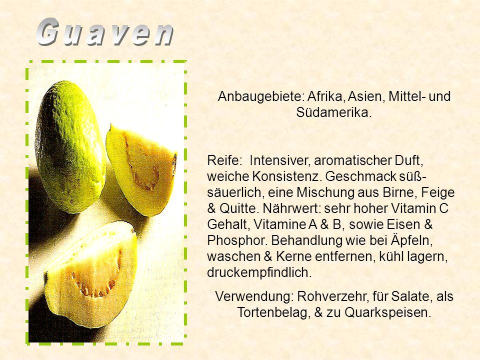 Anbaugebiet: Mittelamerika Rote & weiße Grapefruits sind mild mit feiner Süße. Nährwert: Reich an Vitamin C, wirkt Verdauung fördernd & Stoffwechsel a