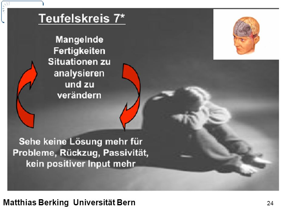 24 Matthias Berking Universität Bern