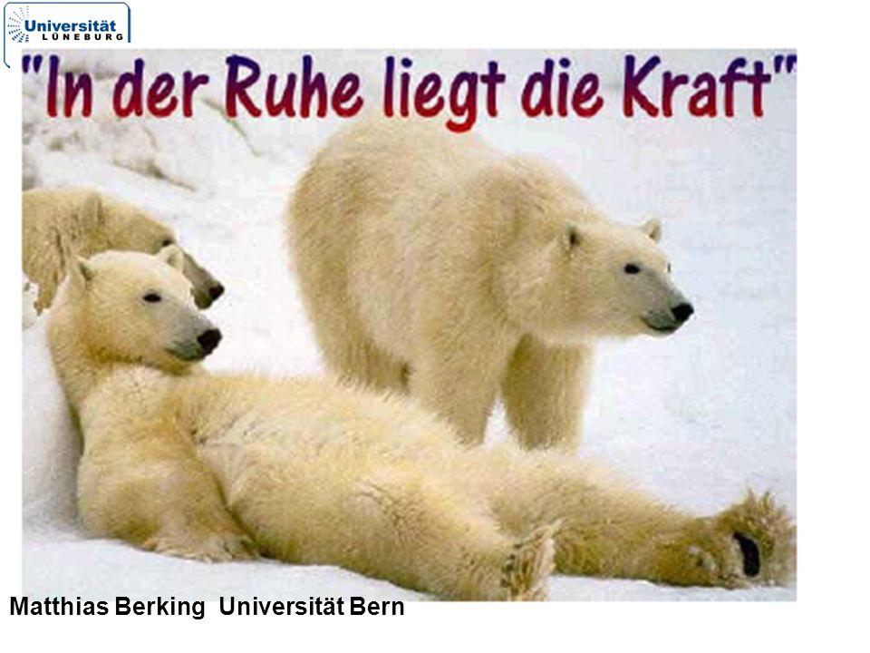 25 Matthias Berking Universität Bern