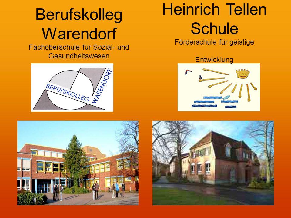 Berufskolleg Warendorf Fachoberschule für Sozial- und Gesundheitswesen Heinrich Tellen Schule Förderschule für geistige Entwicklung