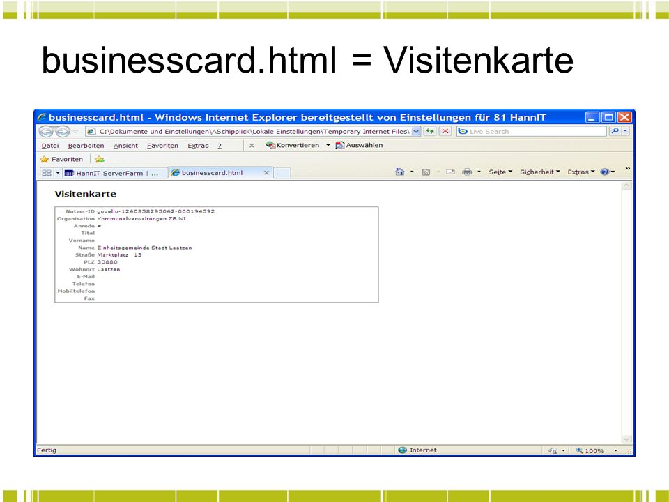 businesscard.html = Visitenkarte