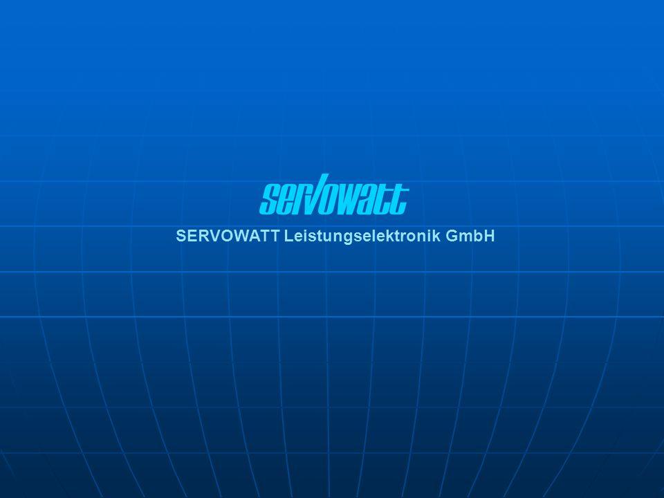 SERVOWATT Leistungselektronik GmbH