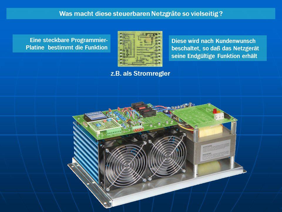 Technische Vorteile von steuerbaren Netzgeräten mit Linearendstufe 2.