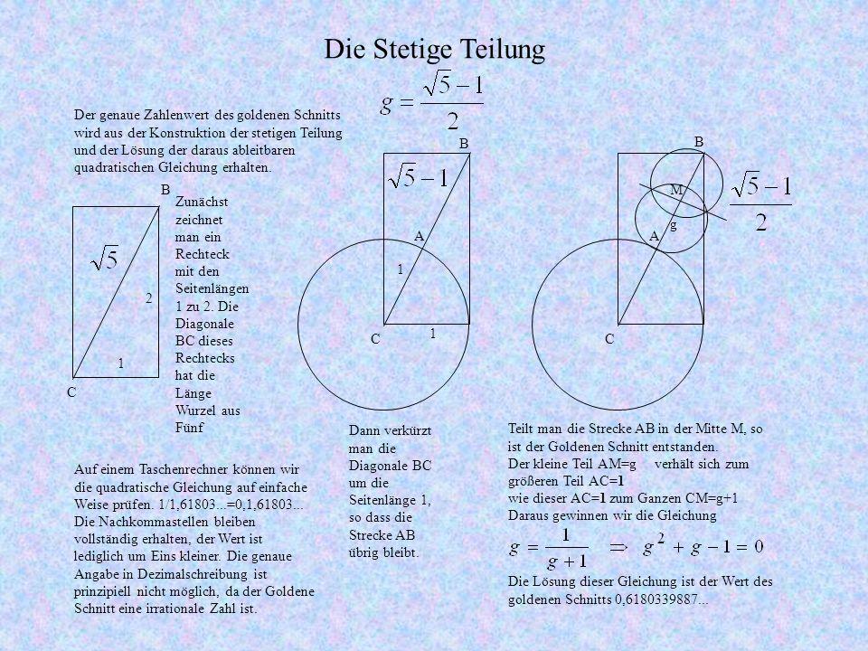 1 2 Zunächst zeichnet man ein Rechteck mit den Seitenlängen 1 zu 2.
