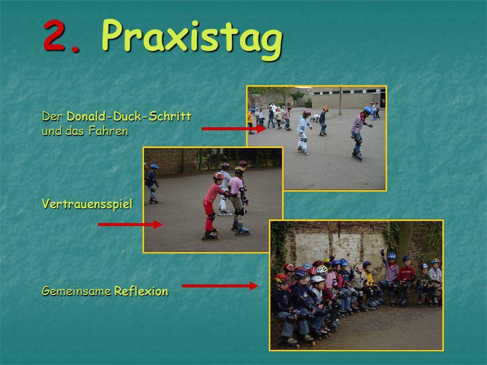 1. Praxistag Richtiges Fallen wird geübt Rollern auf einem Inline-Skate 1. Praxistag Richtiges Fallen wird geübt Rollern auf einem Inline-Skate
