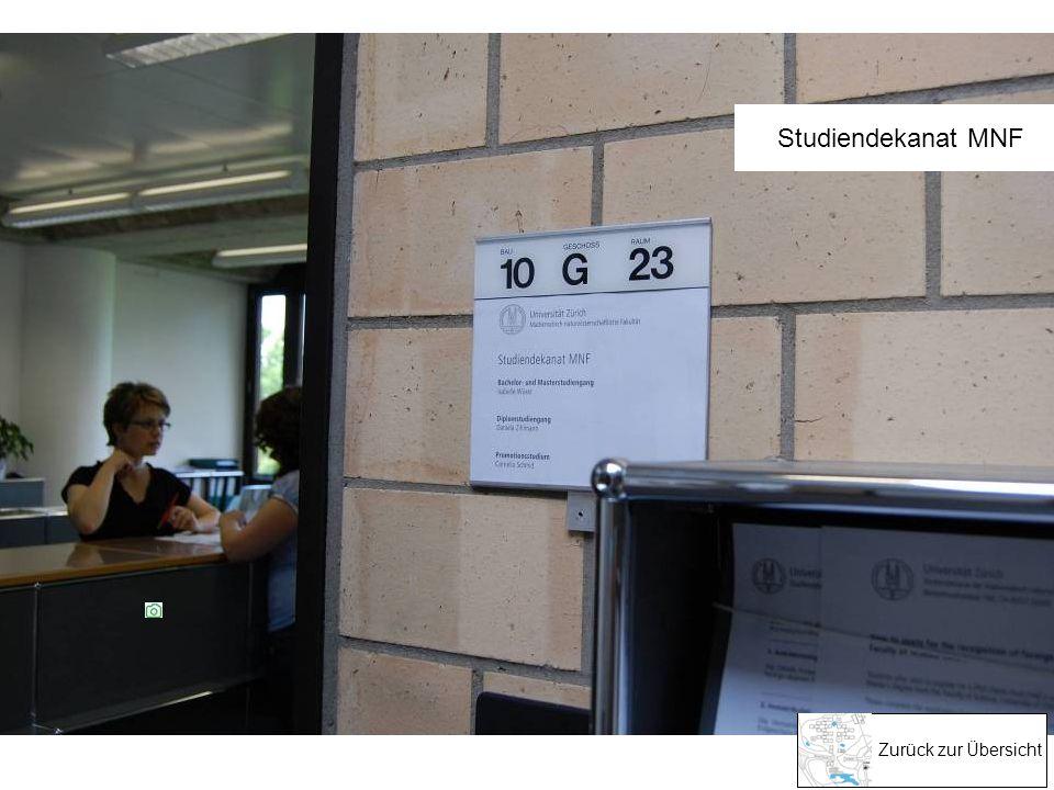 Zurück zur Übersicht Kompetente Beratung: Studiendekanat MNF