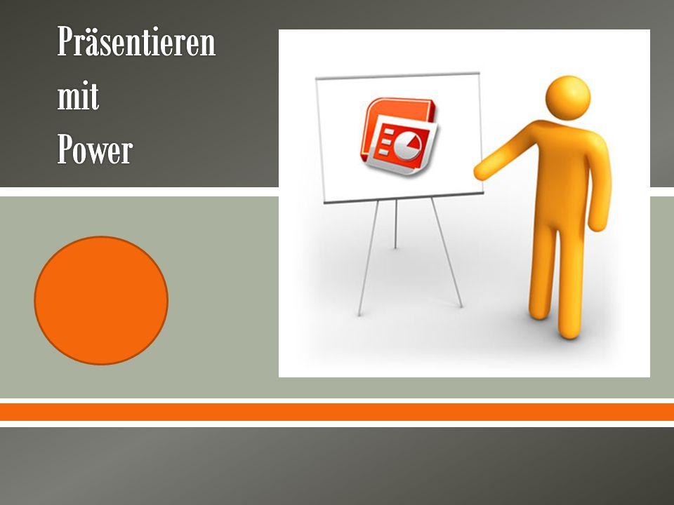 Bevor man mit Powerpoint beginnt … Bevor man beginnt, eine PPT Präsentation vorzubereiten, sollte man sich überlegen, ob PPT für den eigenen Vortrag wirklich das beste Werkzeug ist.