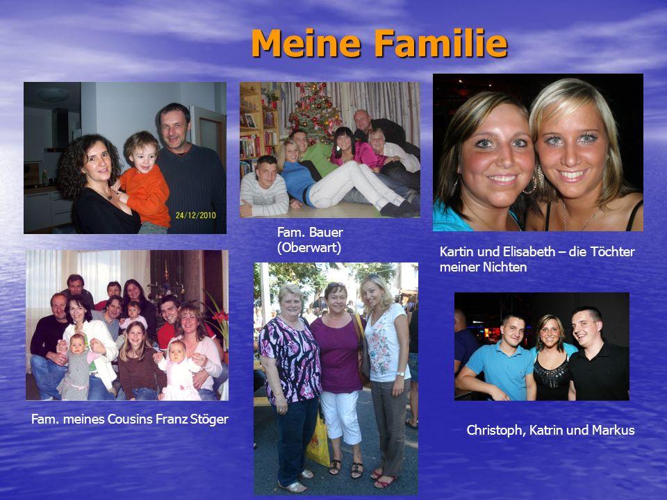 Meine Familie Neffe Rudi, dessen Sohn Daniel Bruder Fritz und Schwägerin Grazyna Nichte Barbara Nichten Karina, Daniela, Neffe Rudi, Nichte Claudia Ni