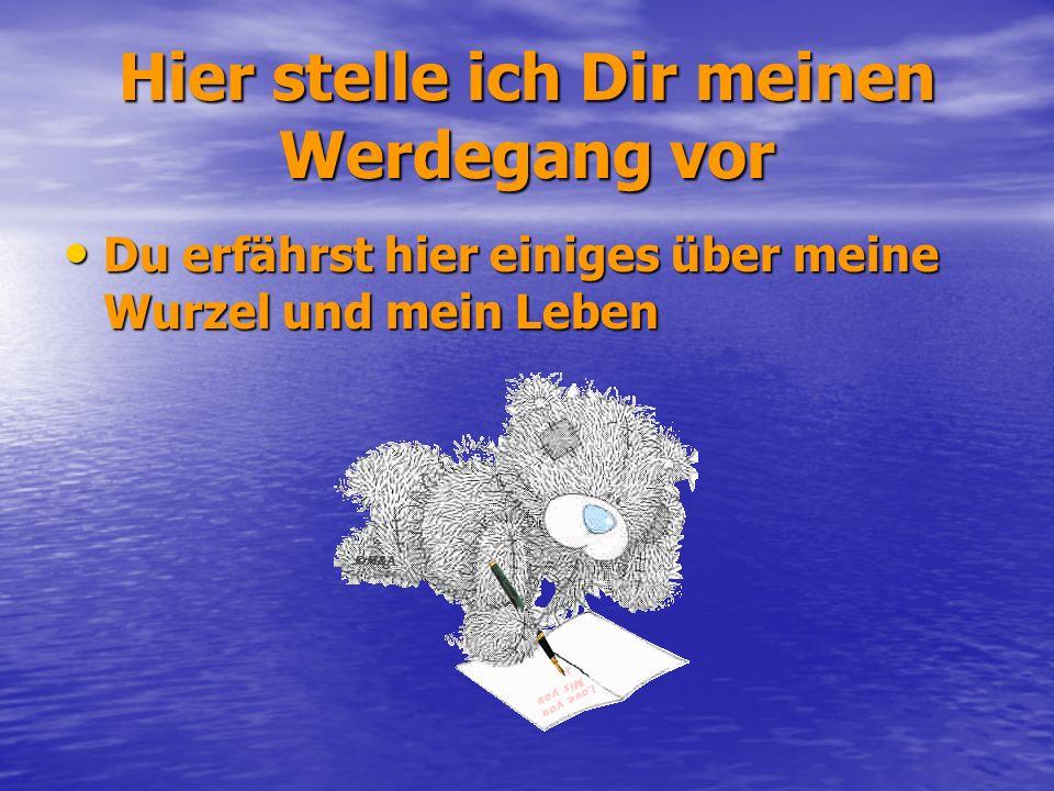 Der Werdegang meiner Wenigkeit im Bild festgehalten……. Mein Name ist Christina Kössner geb.: Schuch Adolf Loosgasse 12 1210 Wien 0676/966 97 07 Mail: