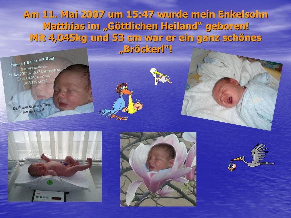Im Sommer 2006 traf meine Tochter Silvia, Charly wieder und das bleib nicht ohne Folgen…