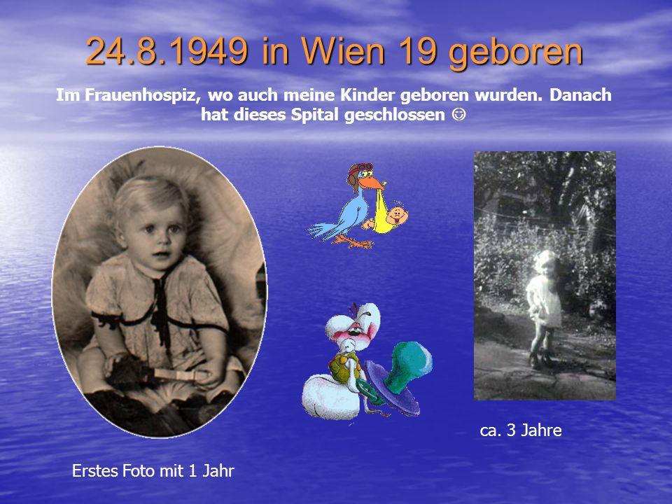 1933 kam mein Bruder Friedrich, der 16 Jahre älter war als ich und der mir sehr viel bedeutet hat, zur Welt. Leider ist er im August 2004 verstorben.