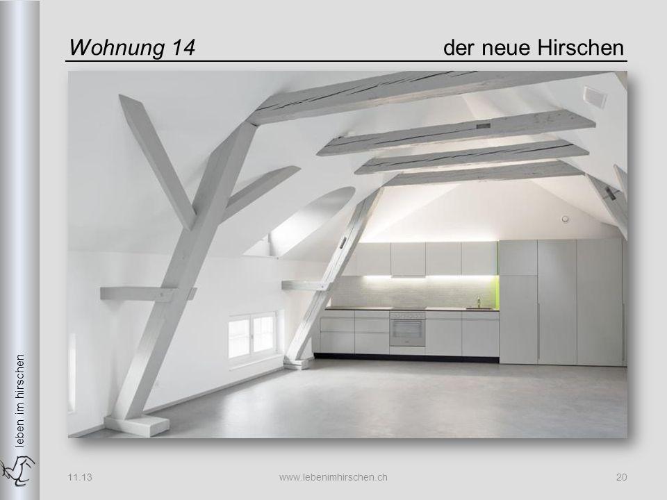 leben im hirschen Wohnung 14der neue Hirschen 11.13www.lebenimhirschen.ch20