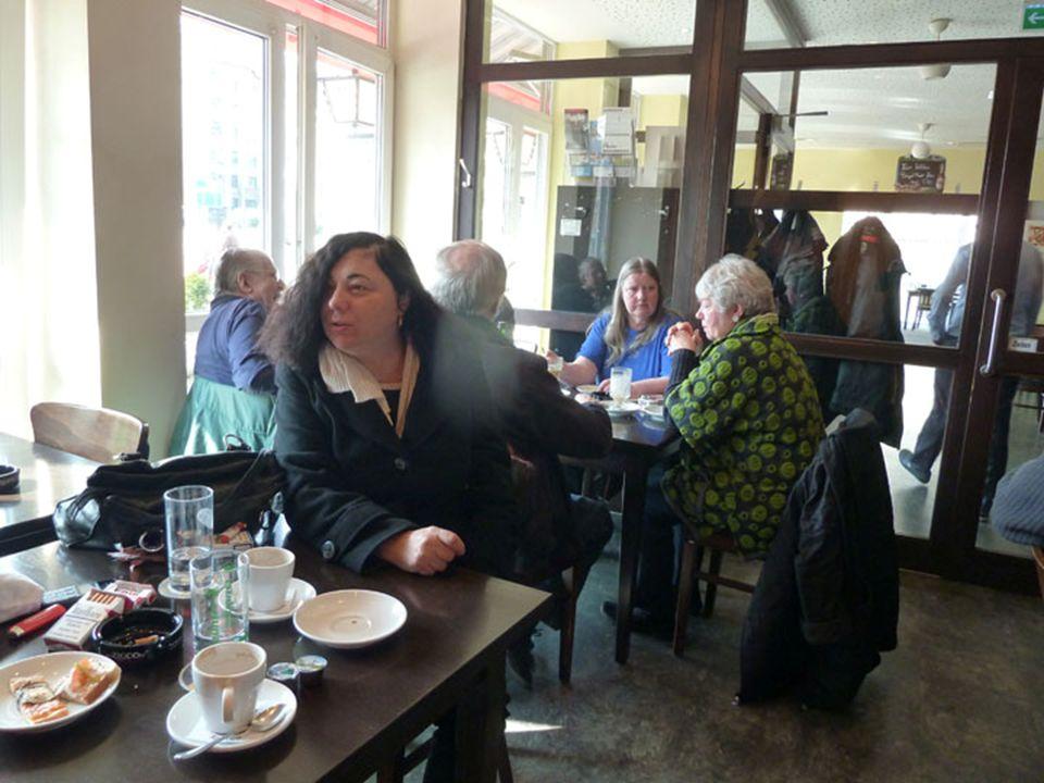 Familie Bal sagt ADIEU im Drei Rosen : Ali, Fatma, Baris, Rukan + WILLKOMMEN im : Café St.
